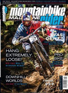 Pro Bike das Mega Bike von World-Cup Star Aaron Gwin. Gefunden in MTB mountainbike ride, Nr. 10/2015