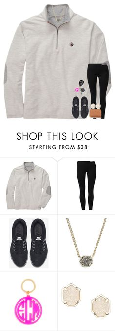 """playin around with layouts!"" by hmcdaniel01 ❤ liked on Polyvore featuring Southern Proper, NIKE, Kendra Scott, BaubleBar and Tory Burch"