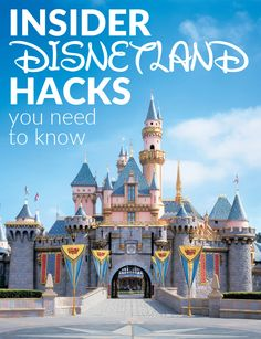 Insider Disneyland Hacks You Need to Know   Travel Tips