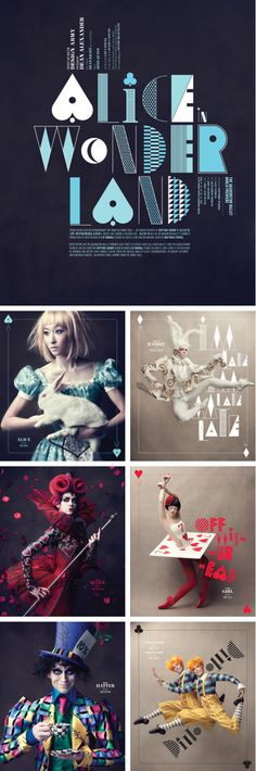 Alice in Wonderland | Design Army