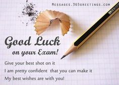Good Luck Messages, Wishes and Good Luck Quotes Messages, Greetings and Wishes - Messages, Wordings and Gift Ideas Exam Wishes For Lover, Exam Success Wishes, Exam Wishes Quotes, Exam Good Luck Quotes, Exam Wishes Good Luck, Best Wishes For Exam, Good Luck For Exams, All The Best Wishes, Exam Quotes