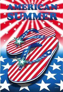 d07a013d5 American Summer Patriotic Garden Flag Evergreen Flags
