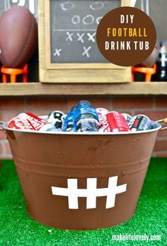 Cool DIY football dr