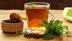 Of several ancient remedies, mint tea is popular for stomach issues.