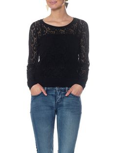 Lace sweater from Vero Moda