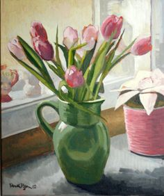 Tulips are my fave. (especially when painted by my husband)