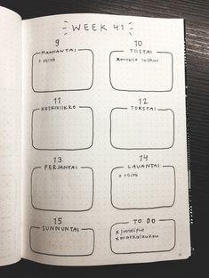 Kuvahaun tulos haulle bujo kalenteri