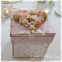 Live & Love Crafts' Inspiration and Challenge Blog: Double Layer Wedding Explosion Box