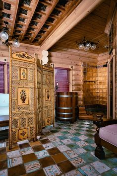 Yves Saint Laurent\'s Russian Style Holiday Home | Russian style