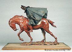 Le Voyageur - Ernest Meissonier, Musée d'Orsay