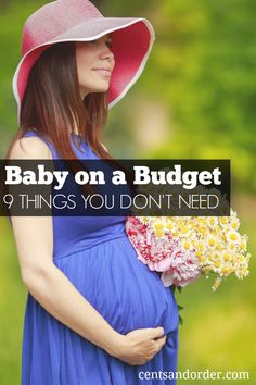 Pregnant and on a tight budget? You can prepare for baby even if you don't have much money. Skip these 9 items you don't need and save money.