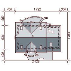 Sytuacja DN Karmelita 2M CE Malm, Teak, Floor Plans, Floor Plan Drawing, House Floor Plans