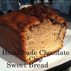 Homemade Chocolate Chip Sweet Bread