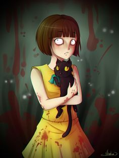 Fran Bow is one of the best games ever! Can someone make a undertale/fran bow crossover? ❤