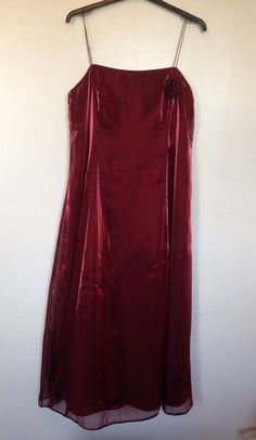 DEBUT STUNNING RED PROM/PARTY/BRIDESMAID LAYERED DRESS SIZE 20 - WORN ONCE! #Debut #Party