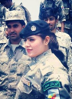 Female Afghan Commando In Border Police (ABP).