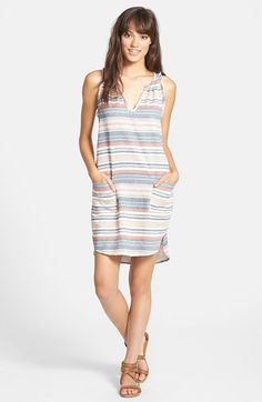 Porridge 'Beachtown' Stripe Cotton Shift Dress | Nordstrom
