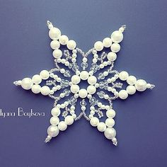 Snowflakes, Brooch, Pearls, Easter, Jewelry, Jewlery, Snow Flakes, Jewerly, Brooches