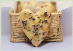 Iced Lavender Lemon Tea Cookies