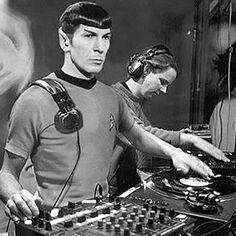 DJ Spock (Leonard Nimoy)