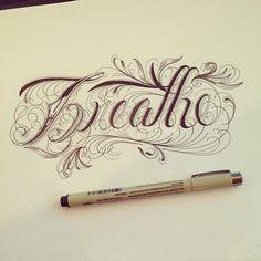 Hand Type Vol. 5 by Raul Alejandro , via Behance