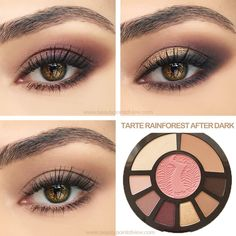 Tarte Rainforest After Dark Palette Tutorial - 3 easy looks Everyday, Classic and Glam | thebeautyspotqld.com.au