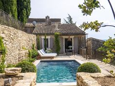 Gordes - The Best Airbnbs in the South of France - Condé Nast Traveler French Country Exterior, South Of France, France Travel, Oh The Places You'll Go, Beautiful Places, Around The Worlds, Cottage, Vacation, Kitchen Utensils