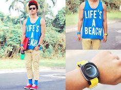 Beachpack (by David Guison) http://lookbook.nu/look/3523735-Beachpack