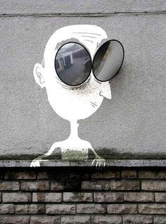 Vrolijke Street Art in Frankrijk