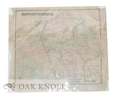 Philadelphia: Pomeroy & Beers, 1868. 15 5/8 x 14 1/2 Single sheet behind clear plastic mylar. Order Nr. 93510
