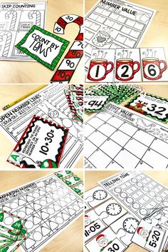 Christmas Math Centers and Activities for 2nd grade are perfect for the month of December. Keep your students learning and diving deep with their math skills through the entire month.