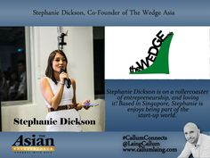 Stephanie Dickson is on a rollercoaster of entrepreneurship, and loving it! Based in Singapore, Stephanie is enjoys being part of the start-up world. #Entrepreneur #Entrepreneurs #Entrepreneurship #Entrepreneurlife #Networking #Businessowner #Business #Bu