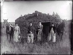 The Chrisman Sisters, 1887 They homesteaded in Nebraska