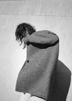 Cocoon wool-blend coat | MANGO
