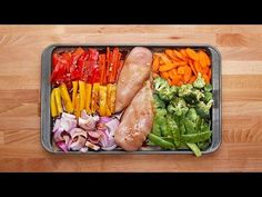 One-Pan Chicken And Veggie Meal Prep 2 Ways | Food and Cooking | qctimes.com