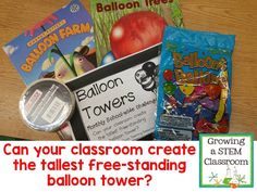 STEM Engineering Challenges and Ideas for the Elementary and Middle School Classroom | Check Out Photos and Ideas to grow your classroom with STEM
