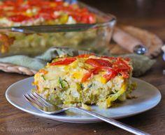 Vegetable and Quinoa Quiche   Betsylife.com