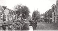 Karnemelksloot 1906.Op de achtergrond de Cornelis Ketelbrug.