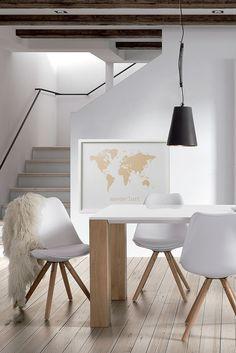 Le style #goldandwhite pour votre salle à manger! La nouvelle tendance!! Qu'en pensez-vous?