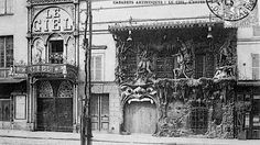 "Paris of the 1890s had several supernatural nightlife options, each of them with marvelously outlandish gimmicks. In the 1899 book Bohemian Paris of To-Day by William Chambers Morrow and Édouard Cucuel, the authors visit several of the City of Lights darker drinking destinations, such as the Cabaret du Néant (""The Cabaret of Nothingness"") in the neighborhood of Montmartre."