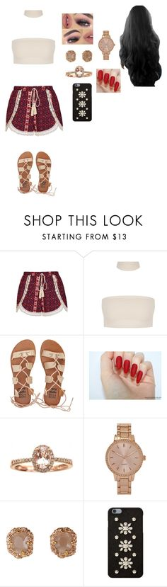 """Sin título #524"" by yamilexcruz2510 ❤ liked on Polyvore featuring Ally Fashion, Billabong, Anika and August, Aéropostale and MICHAEL Michael Kors"