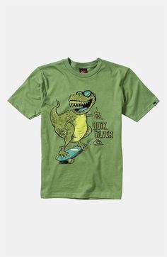 Quiksilver 'Dino Shred' T-Shirt (Little Boys) available at Nordstrom