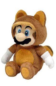 We now carry the new Tanooki Mario plushie!