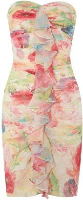 ShopStyle: Women's JS Collections Printed short stretch dress