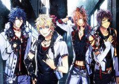 Uta no Prince Sama- Tokiya, Syo, Ren and Cecil ***w*** <3