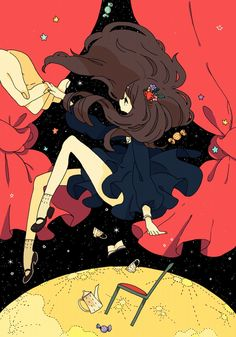 Find images and videos about anime, kawaii and long on We Heart It - the app to get lost in what you love. Art And Illustration, Illustrations, Kawaii Drawings, Cute Drawings, Anime Art Girl, Manga Art, Pretty Art, Cute Art, Aesthetic Art
