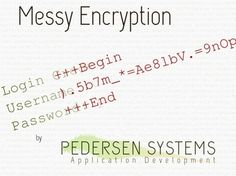 Messy Encryption for Private Communications by Pedersen Systems, via Kickstarter.  Messy Encryption is born from a need to encrypt by erna