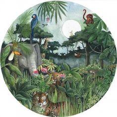 Kinderbehang Regenwoud