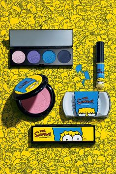 Law of Taste: MAC x Marge The Simpsons Collection