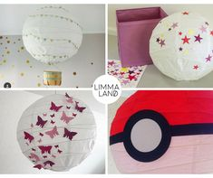 IKEA REGOLIT Hack - the simple ceiling lamp can be so beautiful The best ideas for your IKEA REGOLIT hack. The simple ceiling lamp is the perfect handicraft basis